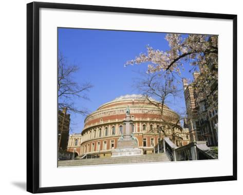 The Royal Albert Hall, Kensington, London, England, UK-Roy Rainford-Framed Art Print