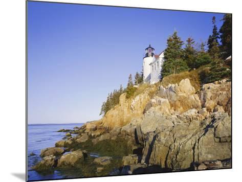Bass Harbour Lighthouse, Acadia National Park, Maine, New England, USA-Roy Rainford-Mounted Photographic Print