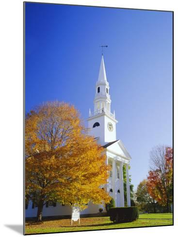 Litchfield Church, Connecticut, New England, USA-Roy Rainford-Mounted Photographic Print