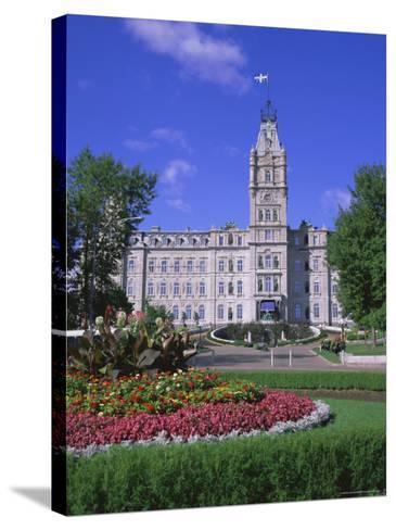 Parliament Building, Quebec City, Quebec, Canada, North America-Roy Rainford-Stretched Canvas Print