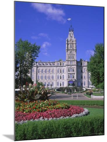 Parliament Building, Quebec City, Quebec, Canada, North America-Roy Rainford-Mounted Photographic Print