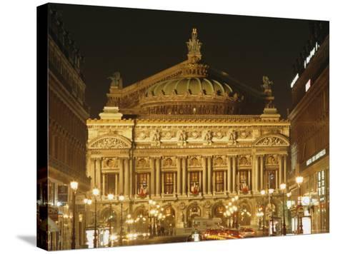 Opera House, Paris, France, Europe-Roy Rainford-Stretched Canvas Print