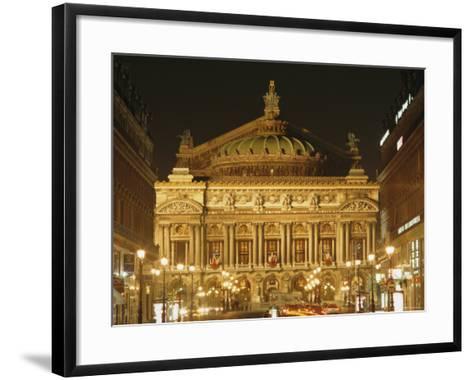 Opera House, Paris, France, Europe-Roy Rainford-Framed Art Print