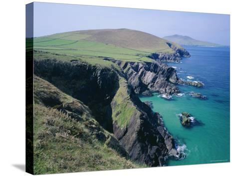 Coastline at Slea Head, Dingle Peninsula, County Kerry, Munster, Republic of Ireland (Eire), Europe-Roy Rainford-Stretched Canvas Print