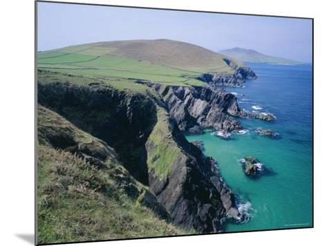 Coastline at Slea Head, Dingle Peninsula, County Kerry, Munster, Republic of Ireland (Eire), Europe-Roy Rainford-Mounted Photographic Print