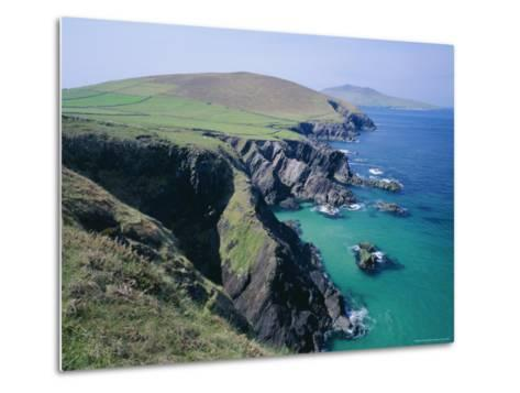 Coastline at Slea Head, Dingle Peninsula, County Kerry, Munster, Republic of Ireland (Eire), Europe-Roy Rainford-Metal Print