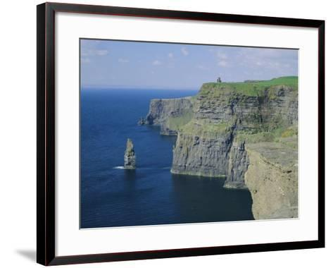 The Cliffs of Moher, County Clare, Munster, Republic of Ireland (Eire), Europe-Roy Rainford-Framed Art Print