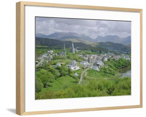 Clifden, Connemara, County Galway, Connacht, Republic of Ireland (Eire), Europe-Roy Rainford-Framed Art Print
