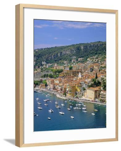Villefranche, Cote d'Azur, Provence, France, Europe-Roy Rainford-Framed Art Print