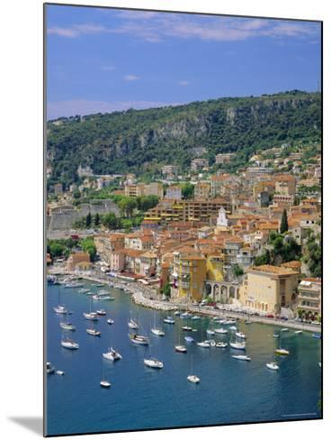 Villefranche, Cote d'Azur, Provence, France, Europe-Roy Rainford-Mounted Photographic Print