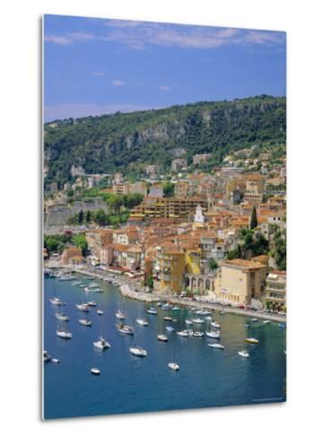 Villefranche, Cote d'Azur, Provence, France, Europe-Roy Rainford-Metal Print