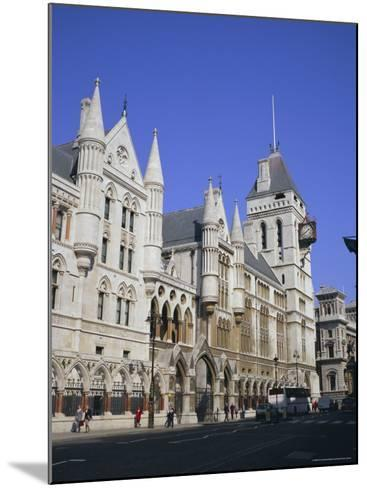 Law Courts (Royal Courts of Justice), Fleet Street, London-Roy Rainford-Mounted Photographic Print