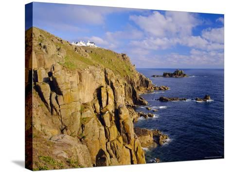 Lands End, Cornwall, England-Roy Rainford-Stretched Canvas Print