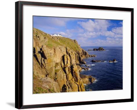 Lands End, Cornwall, England-Roy Rainford-Framed Art Print