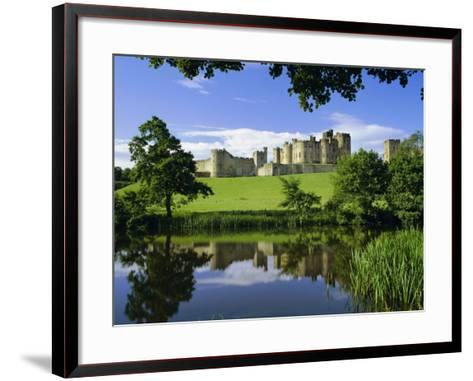 Alnwick Castle, Alnwick, Northumberland, England, UK-Roy Rainford-Framed Art Print
