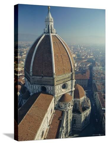 The Duomo (Cathedral), Florence, Unesco World Heritage Site, Tuscany, Italy, Europe-Rob Cousins-Stretched Canvas Print