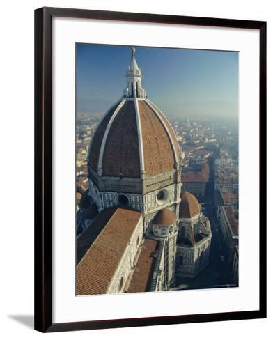 The Duomo (Cathedral), Florence, Unesco World Heritage Site, Tuscany, Italy, Europe-Rob Cousins-Framed Art Print