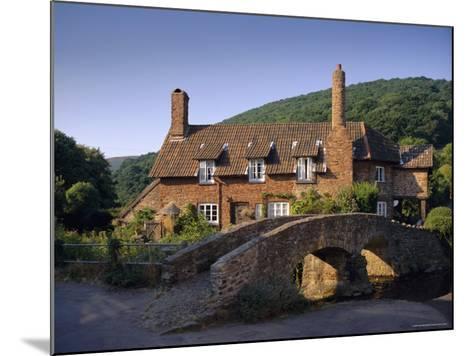 Packhorse Bridge, Allerford, Exmoor National Park, Somerset, England, UK, Europe-John Miller-Mounted Photographic Print