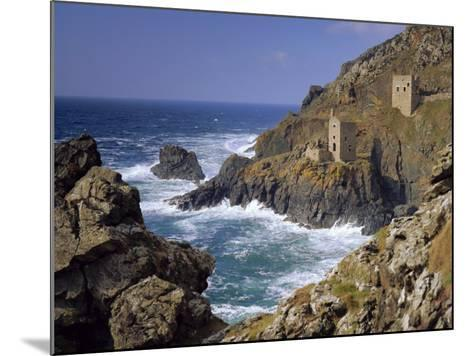 Botallack Tin Mines, Cornwall, England-John Miller-Mounted Photographic Print