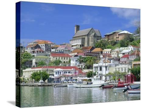 St. Georges, Grenada, Caribbean, West Indies-John Miller-Stretched Canvas Print