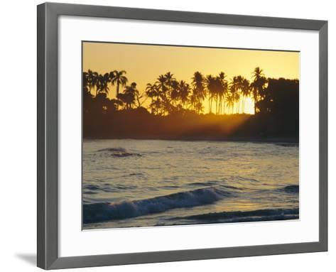 Confresi Beach, Dominican Republic, Caribbean, West Indies-John Miller-Framed Art Print