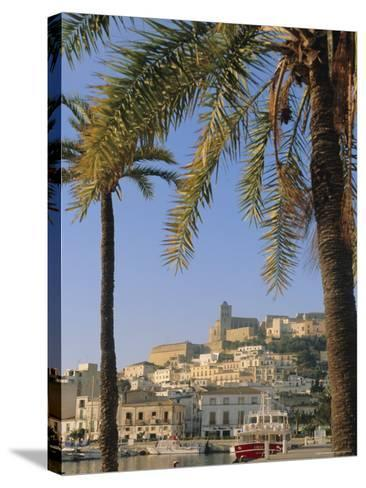 Ibiza Town, Ibiza, Balearic Islands, Spain, Europe-John Miller-Stretched Canvas Print