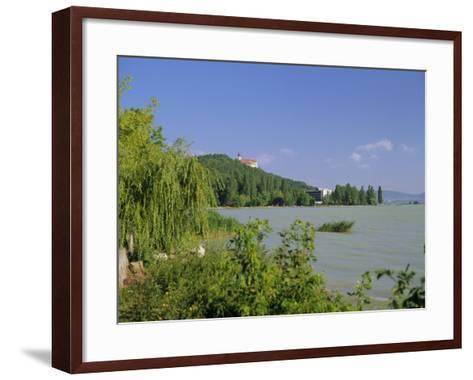 Lake Balaton, Tihany, Hungary-John Miller-Framed Art Print