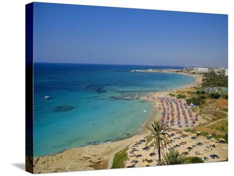 Ayia Napa Beach, Cyprus, Europe-John Miller-Stretched Canvas Print