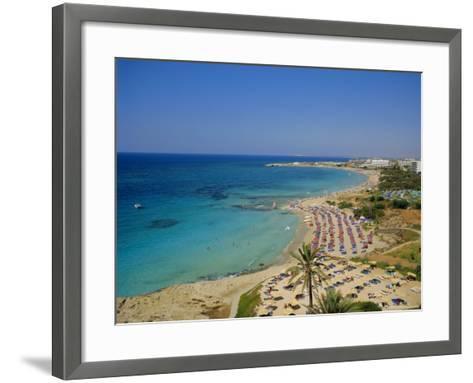 Ayia Napa Beach, Cyprus, Europe-John Miller-Framed Art Print