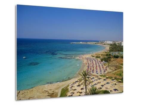 Ayia Napa Beach, Cyprus, Europe-John Miller-Metal Print