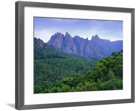 Col Du Bavella, Corsica, France-John Miller-Framed Art Print