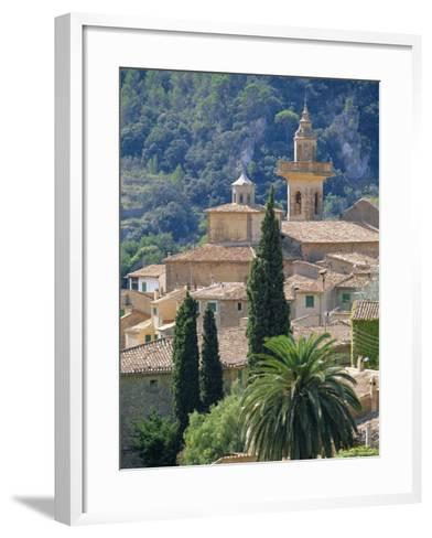 Valldemosa, Mallorca, Balearic Islands, Spain, Europe-John Miller-Framed Art Print