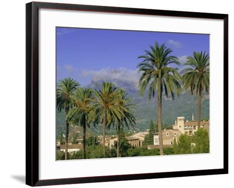 Soller, Majorca (Mallorca), Balearic Islands, Spain, Europe-John Miller-Framed Art Print