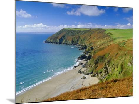Lantic Bay, Near Fowey, Cornwall, England,UK-John Miller-Mounted Photographic Print