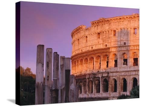 Colosseum, Rome, Italy-John Miller-Stretched Canvas Print