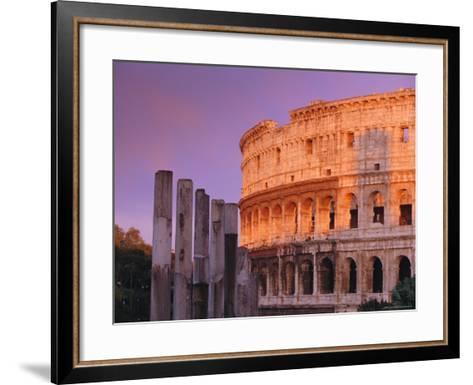 Colosseum, Rome, Italy-John Miller-Framed Art Print