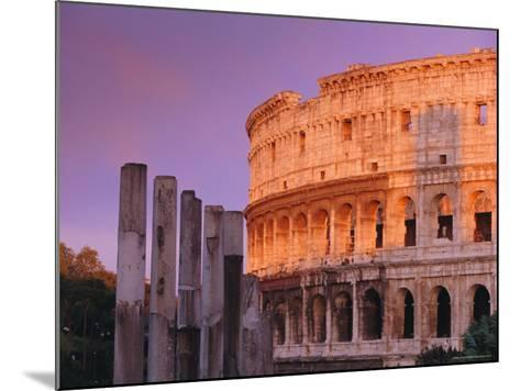 Colosseum, Rome, Italy-John Miller-Mounted Photographic Print