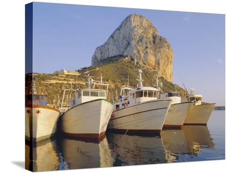 Calpe, Penon De Ifach in Background, Costa Blanca, Valencia, Spain, Europe-John Miller-Stretched Canvas Print