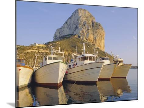 Calpe, Penon De Ifach in Background, Costa Blanca, Valencia, Spain, Europe-John Miller-Mounted Photographic Print