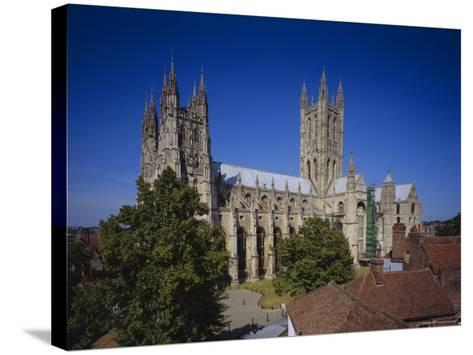 Canterbury Cathedral, Canterbury, Kent, England, UK, Europe-John Miller-Stretched Canvas Print