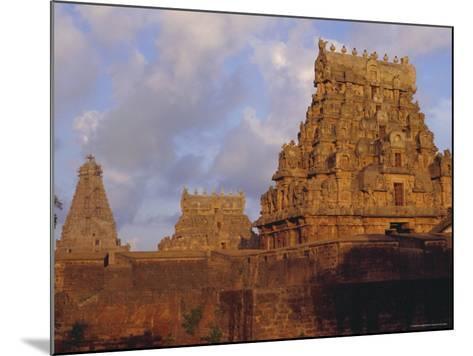 The Brihadeshwara (Brihadishwara) Temple, Built in 1000 AD, at Tanjore, Tamil Nadu, India-David Beatty-Mounted Photographic Print