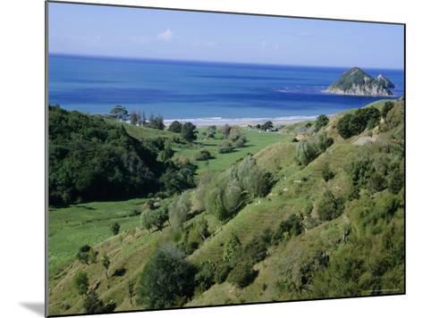 Beach and Coast, Tokomaru Bay, Gisborne, East Coast, North Island, New Zealand, Pacific-D H Webster-Mounted Photographic Print