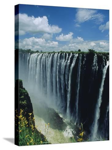 Victoria Falls, Zimbabwe, Africa-Dominic Webster-Stretched Canvas Print