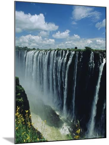 Victoria Falls, Zimbabwe, Africa-Dominic Webster-Mounted Photographic Print