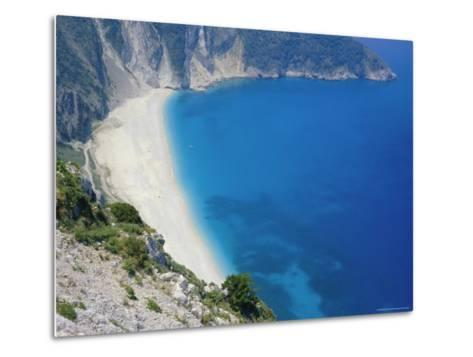 Cephalonia, Ionian Islands, Greece, Europe-Michael Short-Metal Print
