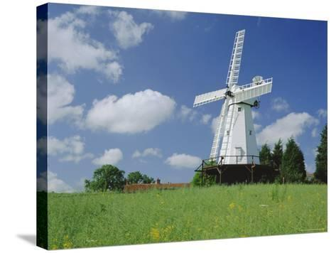 Woodchurch Windmill, Kent, England, UK-Kathy Collins-Stretched Canvas Print