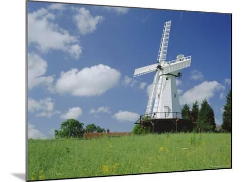 Woodchurch Windmill, Kent, England, UK-Kathy Collins-Mounted Photographic Print