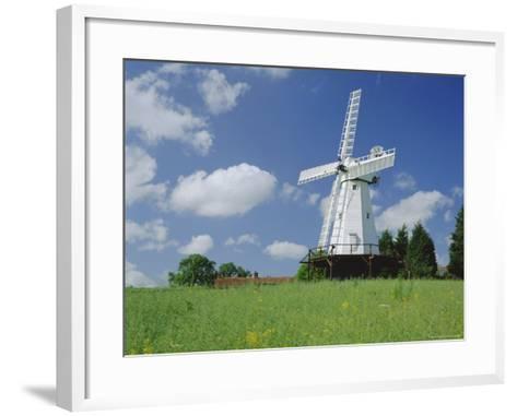 Woodchurch Windmill, Kent, England, UK-Kathy Collins-Framed Art Print