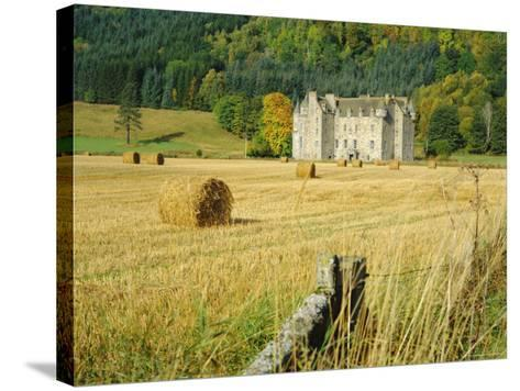 Castle Menzies/Weem, Perthshire, Scotland-Kathy Collins-Stretched Canvas Print
