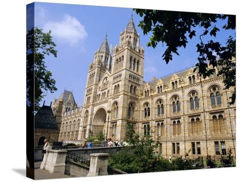The Natural History Museum, South Kensington, London, England, UK-Mark Mawson-Stretched Canvas Print